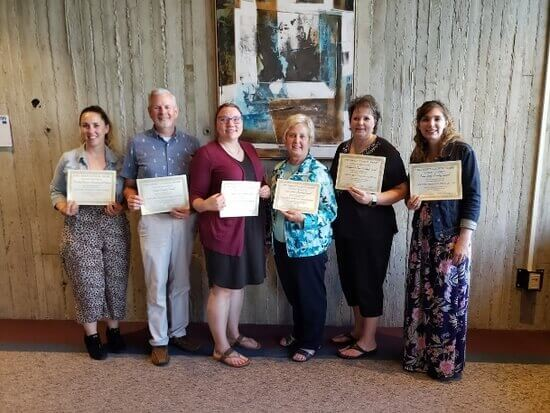 2018-2019 Recipients for the Merit Council